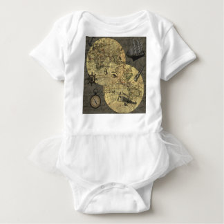Body Para Bebê Viagem em todo o mundo