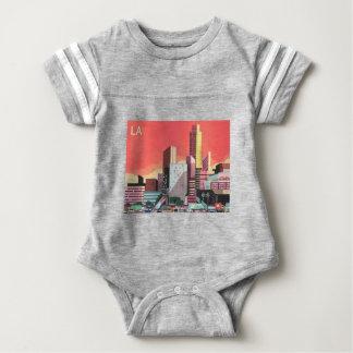 Body Para Bebê Viagens vintage de Los Angeles