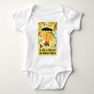 Body Para Bebê Viagens vintage Portugal