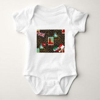 Body Para Bebê viajante de mundo