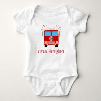Body Para Bebê Viatura de incêndio futura do sapador-bombeiro |