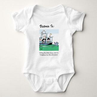 Body Para Bebê Victoria é: c - pelo harrop
