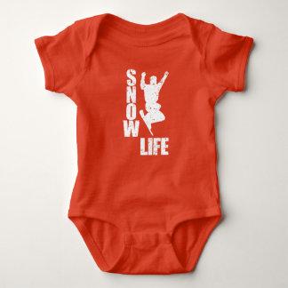 Body Para Bebê VIDA #3 da NEVE (branca)