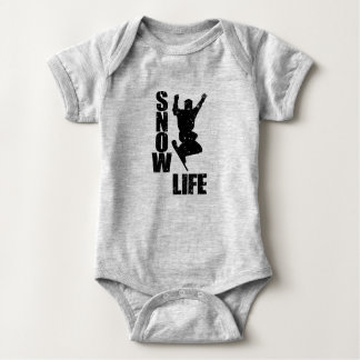 Body Para Bebê VIDA #3 da NEVE (preto)