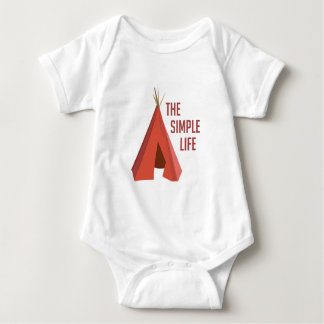 Body Para Bebê Vida simples