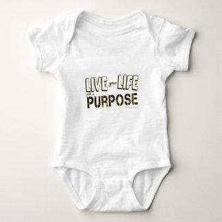 Body Para Bebê Vida sua vida com uma finalidade