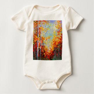 Body Para Bebê Vidoeiros do outono