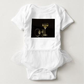 Body Para Bebê vidros do champanhe