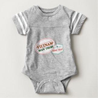 Body Para Bebê Vietnam feito lá isso