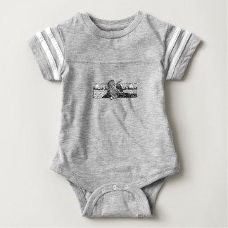Body Para Bebê Viking que cinzela Runes