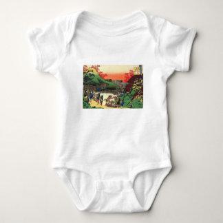 Body Para Bebê Vila japonesa