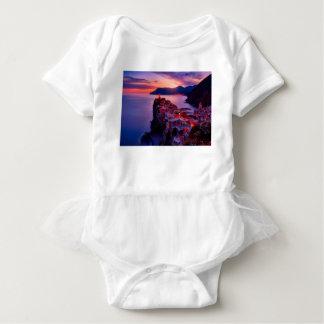 Body Para Bebê Vila na paisagem do rio