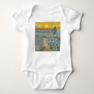 Body Para Bebê Vincent van Gogh a arte da pintura do Sower