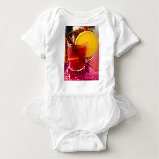 Body Para Bebê Vinho mulled fruta com canela e laranja