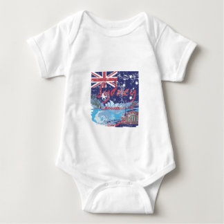 Body Para Bebê vintage Austrália de sydney