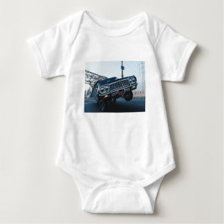 Body Para Bebê Vintage do cavaleiro do carro condução automotriz