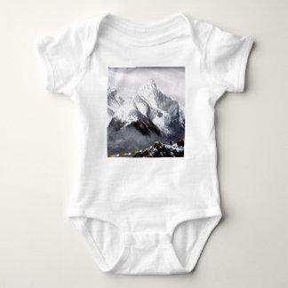 Body Para Bebê Vista panorâmica da montanha de Everest