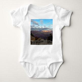 Body Para Bebê Vista panorâmica do Grand Canyon