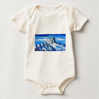 Body Para Bebê Vista panorâmica do pico de montanha de Everest