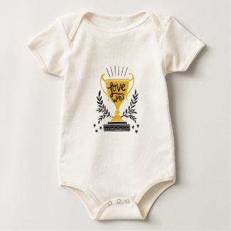 Body Para Bebê Vitórias do amor