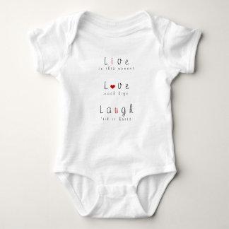 Body Para Bebê Vivo, amor, riso