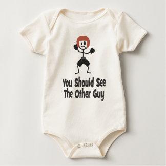 Body Para Bebê Você deve ver a outra cara