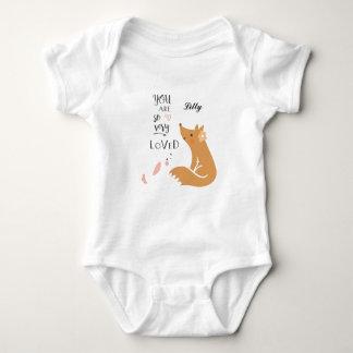 Body Para Bebê Você é Bodysuit tão muito amado do bebê