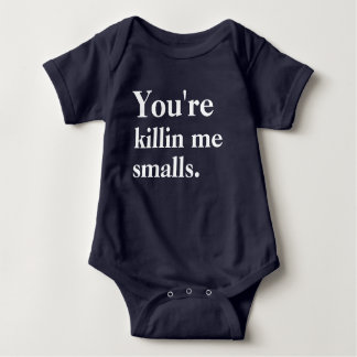 Body Para Bebê Você é Killin mim pequenas mercadorias
