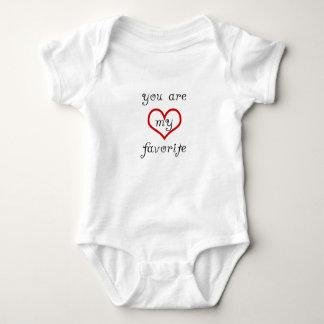 Body Para Bebê você é meu favorito