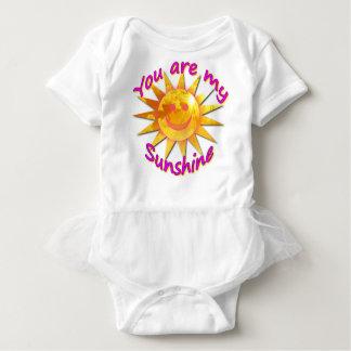 Body Para Bebê Você é meu tutu da luz do sol