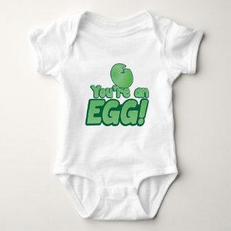 Body Para Bebê Você é um OVO!  dizer impressionante do quivi