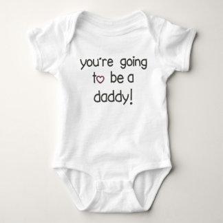 Body Para Bebê Você está indo ser um pai! Anúncio da gravidez