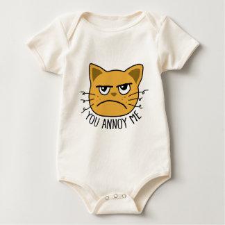 Body Para Bebê Você irrita-me