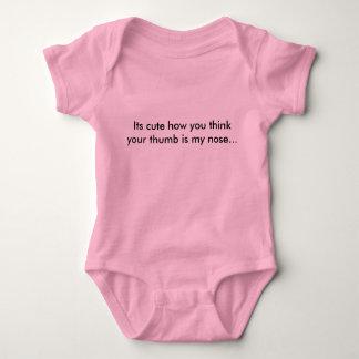 Body Para Bebê você não tem meu bobo do nariz!