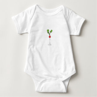 Body Para Bebê Você olha Radishing
