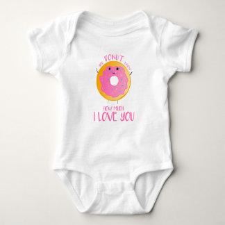 Body Para Bebê Você ROSQUINHA sabe quanto eu te amo - Bodysuit do