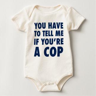 Body Para Bebê Você tem que dizer-me se você é um chui