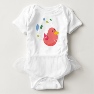 Body Para Bebê vôo pequeno bonito do pássaro e canto