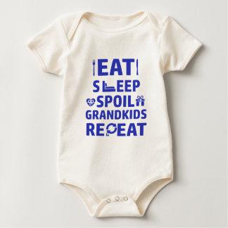 Body Para Bebê Vovô e avó