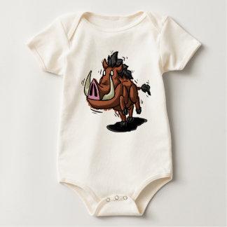 Body Para Bebê Warthog Babygrow