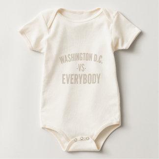 Body Para Bebê Washington DC contra todos
