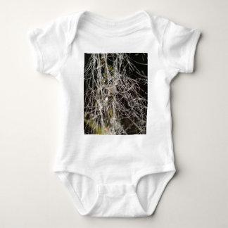 Body Para Bebê Web de aranha com gotas de orvalho