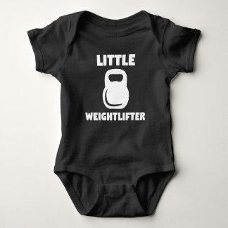 Body Para Bebê Weightlifter pequeno Kettlebell