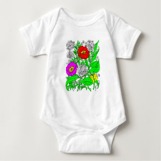 Body Para Bebê Wildflowers 2