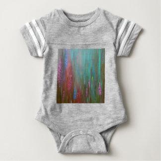 Body Para Bebê Wildflowers abstratos