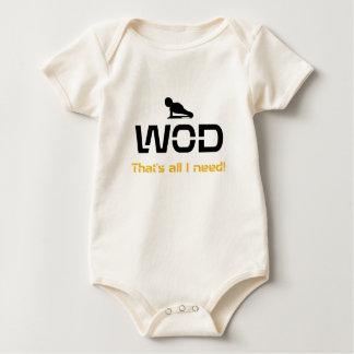 Body Para Bebê WOD que são todos mim precisam!