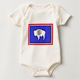 Body Para Bebê Wyoming o estado da igualdade
