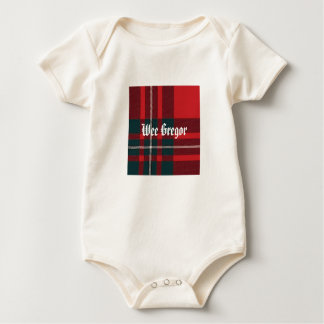 Body Para Bebê Xadrez de MacGregor, Gregor pequenino