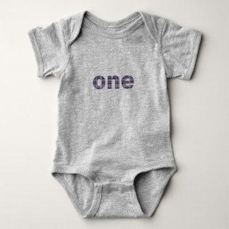 Body Para Bebê Xadrez uma do aniversário do bebê primeira 12