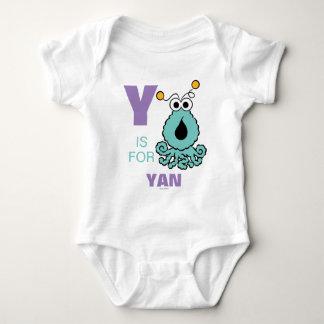 Body Para Bebê Y é para Yip-Yips | adiciona seu nome